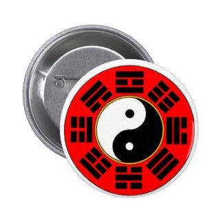 Botón del trigram de Bagua