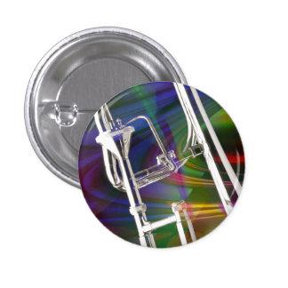 Botón del Trombone de diapositiva USTED AÑADE EL Pin Redondo De 1 Pulgada