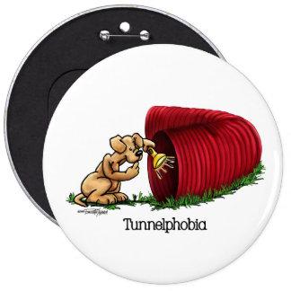 Botón del túnel de la agilidad del perro pin