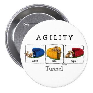 Botón del túnel GBU de la agilidad Pin