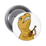 Botón del Ukulele de T-Rex Pins