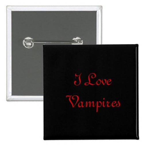 botón del vampiro pin