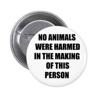 Botón del vegano pin