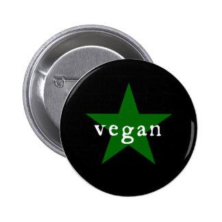 Botón del vegano pins