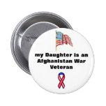 Botón del veterano de guerra de Afganistán - mi hi Pins