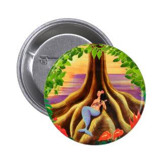 Botón del viaje de Hawaii Pin Redondo De 2 Pulgadas