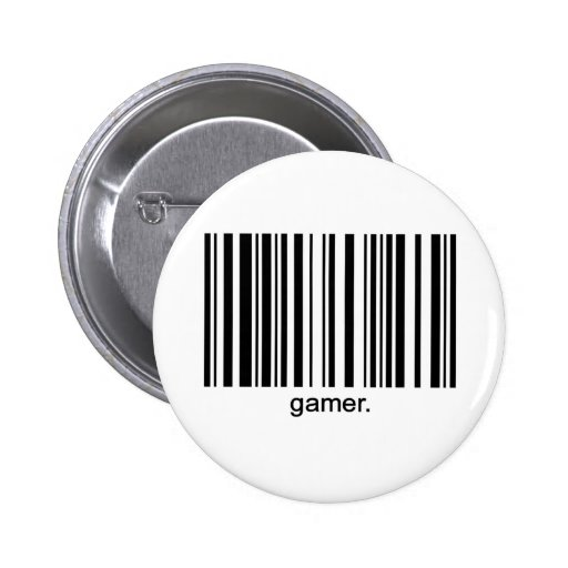 Botón del videojugador pin