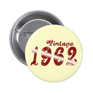 Botón del vintage 1962