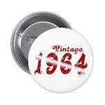 Botón del vintage 1964 pin