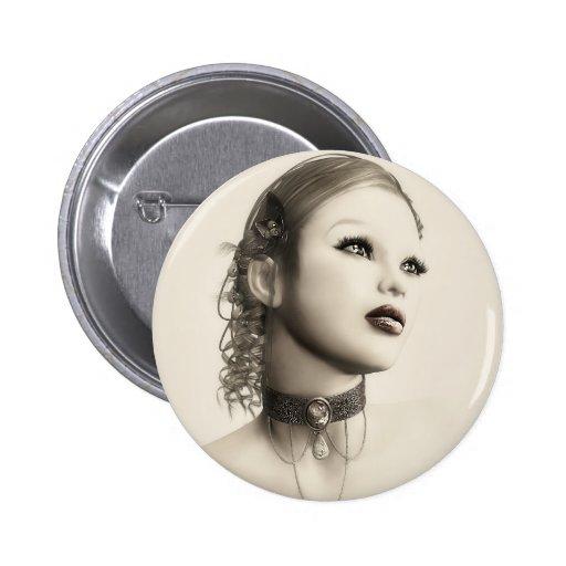 Botón del vintage pin