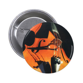 Botón del violoncelo que asoma pin
