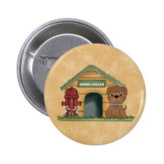 Botón del VISITANTE del BINGO Pin