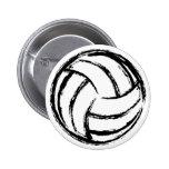 Botón del voleibol pin