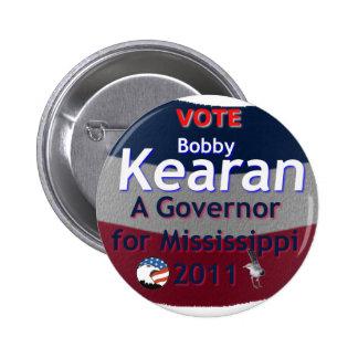 Botón del voto BK Pin