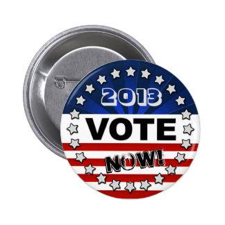 Botón del voto de los E E U U Pins