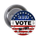 Botón del voto de los E.E.U.U. Pins