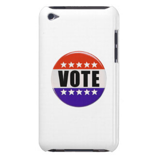 Botón del voto iPod Case-Mate cárcasa
