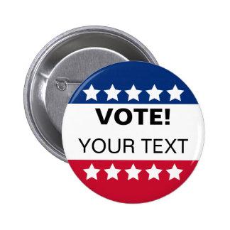 Botón del voto - personalícelo