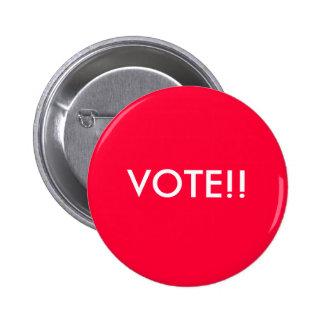 Botón del voto pin