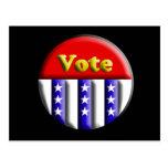 Botón del voto postal