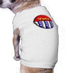 Botón del voto ropa perro