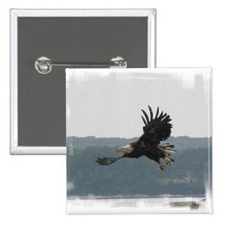 Botón del vuelo de Eagle Pin