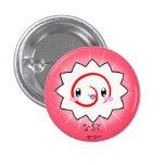 Botón delicioso de Naruto Fishcake Pin Redondo De 1 Pulgada