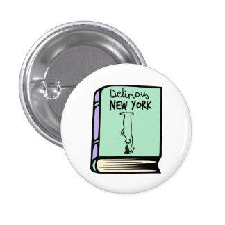 Botón delirante del libro de Rem Koolhaas Nueva Pin Redondo De 1 Pulgada