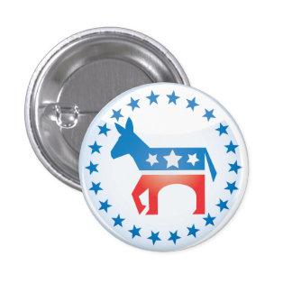 Botón Democratic del burro