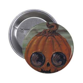 botón diabólico del júbilo pin redondo de 2 pulgadas