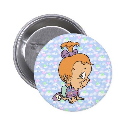 Botón disimulado oficial de Ana del gatito de los  Pins