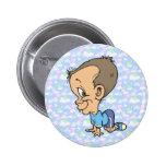 Botón disimulado oficial de Jeffery de los chivato Pin