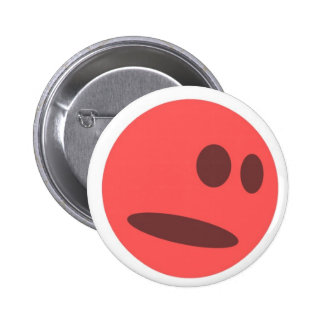 Botón divertido sonriente supersónico pins