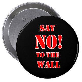 Botón Donald Trump Anti. Pin Redondo De 4 Pulgadas