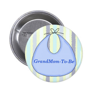 Botón dulce del Pin de la abuela de la ducha del b