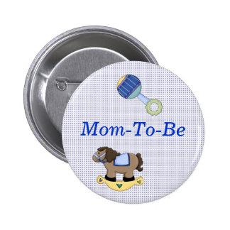 Botón dulce del Pin de la mamá de la ducha del beb