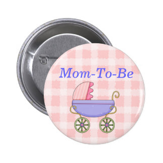 Botón dulce del Pin de la mamá de la fiesta de bie