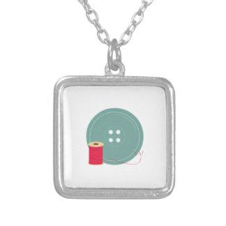 Botón e hilo collar personalizado