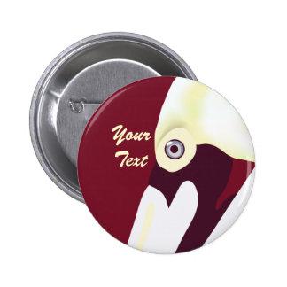 Botón elegante del pelícano pin