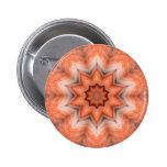 Botón emplumado del frenesí pin