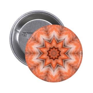 Botón emplumado del frenesí pin redondo de 2 pulgadas