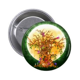 Botón encantado del árbol del Faerie