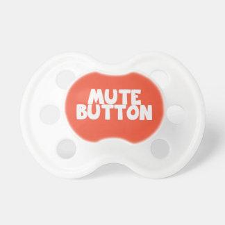 Botón enmudecedor chupetes para bebés