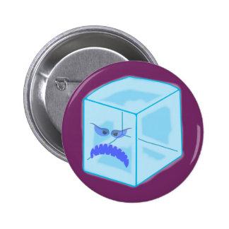 Botón enojado del cubo de hielo pins