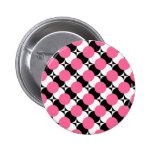 Botón enrrollado de los puntos de PICK-A-COLOR Pins