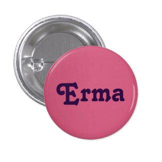 Botón Erma Pin Redondo De 1 Pulgada