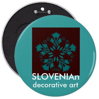 Botón esloveno de los claveles