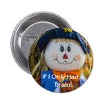 Botón:  Espantapájaros Pin