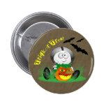 Botón espeluznante de la Jack-o-Linterna Pins
