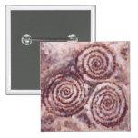 Botón espiral de Newgrange Pin